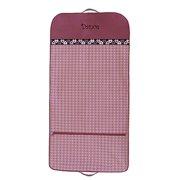 Sassi Design Girls Fuchsia Pink Dots Hearts Dance Garment Bag