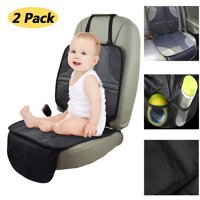 2-Pack Infant Baby Car Seat Protector Mat Cushion Anti Slip Waterproof Easy Clean