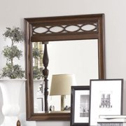 American Drew Cherry Grove NG Fret Mirror in Mid Tone Brown
