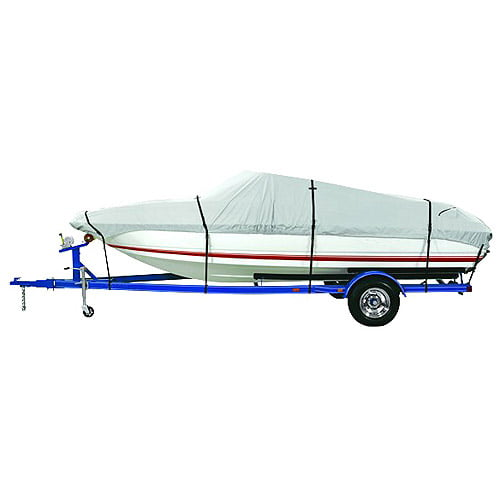 Harbor Master 600-Denier Polyester Boat Cover, Gray by Dallas Manufacturing Co.