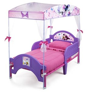 Delta Children's Products Minnie Mouse Canopy Toddler Bed by Delta