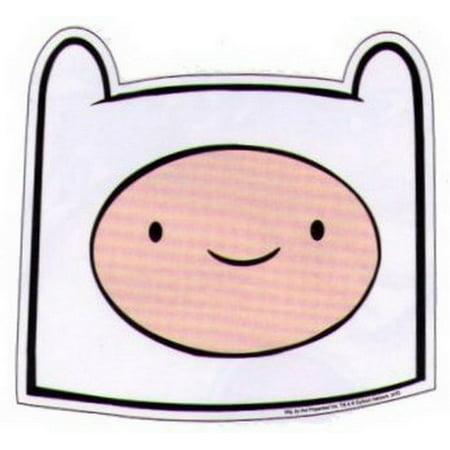 Adventure Time Finn Face Sticker AS870