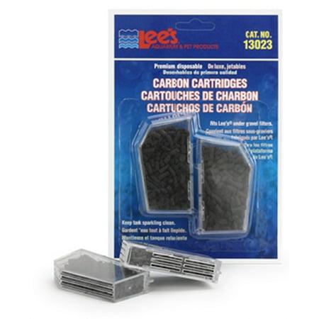 Lees 13023 Disposable Premium Carbon Cartridge  2 Blister Card