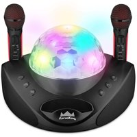 Wireless Karaoke Machine Microphone for Adults and Kids New 2020 Pro System - Black