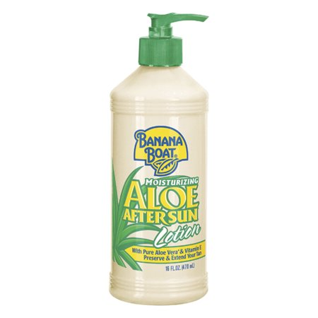 Banana Boat Moisturizing Aloe After Sun Lotion, 16 Oz, 6 (Banana Boat Moisturizing Aloe After Sun Lotion)