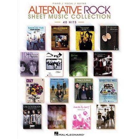 Alternative Rock Sheet Music Collection : 40 Hits (Alternative Rock Halloween Music)
