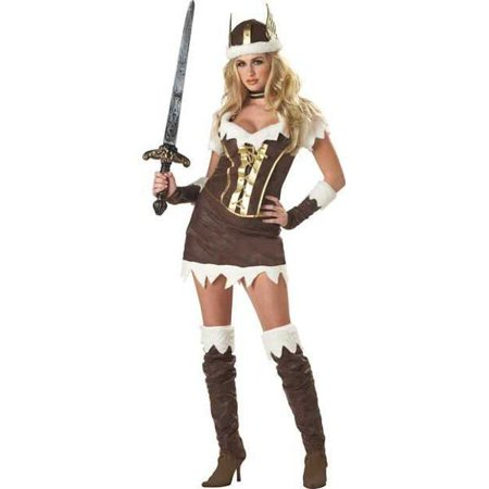 Deluxe Viking Costume (Adult Deluxe Sexy Viking Vixen Costume~Adult Deluxe Sexy Viking Vixen)