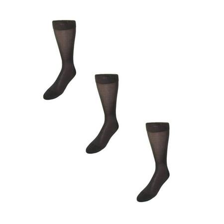 cd6362bcc624e Windsor Collection Men's Silk Mid Calf Dress Socks (Pack of 3) - image 1 ...