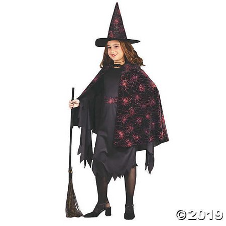 Witch Glitter Chip Child Costume (Small)](Chimp Costume)