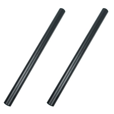 Black Mounting Pole - Seismic Audio  - Pair of 20 Inch Subwoofer Mounting Poles - 20