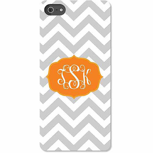 Personalized Chevron Monogram iPhone 5 Case