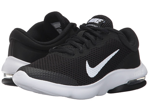 Nike AIR MAX ADVANTAGE GS Youth Boys Black White Athletic Shoes