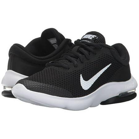 df930e5f2fd Nike - Nike AIR MAX ADVANTAGE GS Youth Boys Black White Athletic Shoes -  Walmart.com