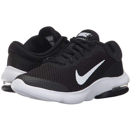 the latest da112 bd5e1 Nike - Nike AIR MAX ADVANTAGE GS Youth Boys Black White Athletic Shoes -  Walmart.com