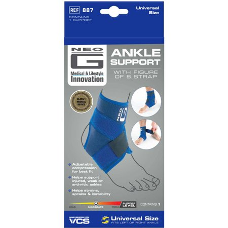 ec8471671f Neo G Ankle Support with Figure of 8 Strap - Walmart.com