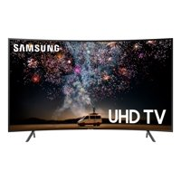 "SAMSUNG 55"" Class 4K Ultra HD (2160P) HDR Smart LED Curved TV UN55RU7300 (2019 Model)"
