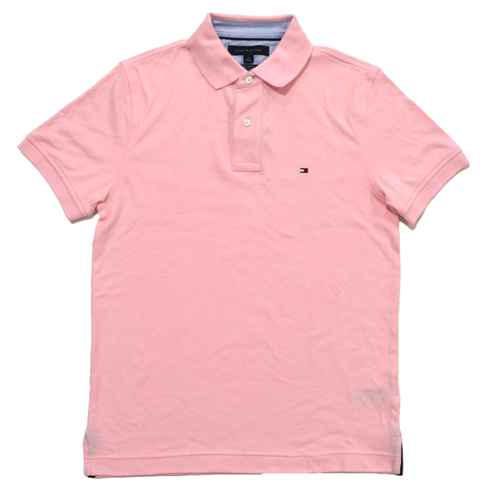 Tommy Hilfiger Mens Custom Fit Interlock Polo Shirt (XL, ...