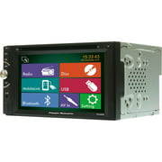 """Power Acoustik PD-620HB Car DVD Player, 6.2"""" Touchscreen LED-LCD, Double DIN"""