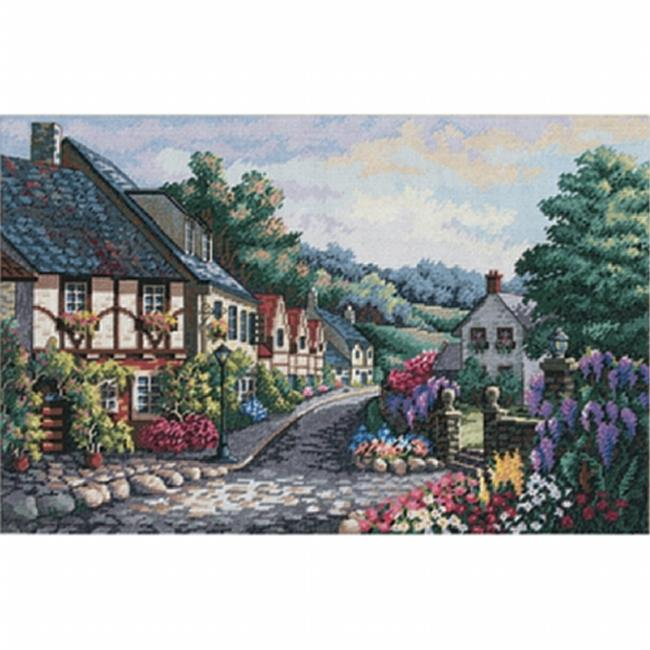"""Dimensions//Gold Collection Counted Cross Stitch Kit 16/""""X12/""""-Japanese Garden"""