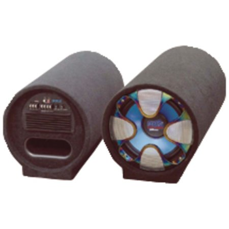 Pyle Blue Wave Series - Pyle PLTAB8 Blue Wave Series Amplified Subwoofer Tube System (8, 250 Watts)