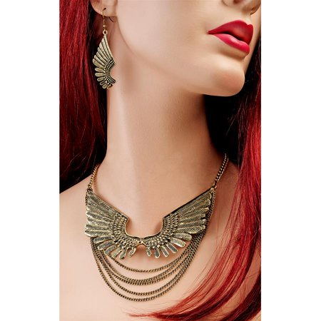 Wings Of Isis Jewelry Set Design Toscano Egyptian Jewelry Wings Of Isis