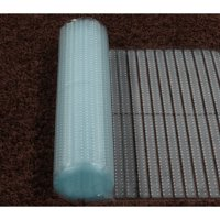 Sweet Home Stores Ribbed Multi Grip High-spike Clear Plastic Runner Rug Carpet Protector Mat