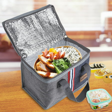 e36bc7d2bc37 Portable Insulated Thermal Cooler Lunch Storage Food Box Bag Case Picnic ,  Portable Storage Bag, Thermal Food Bag
