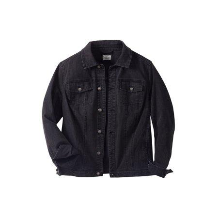 - Liberty Blues Men's Big & Tall Denim Jacket