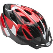 Schwinn Red and Black Thrasher Helmet, Adult