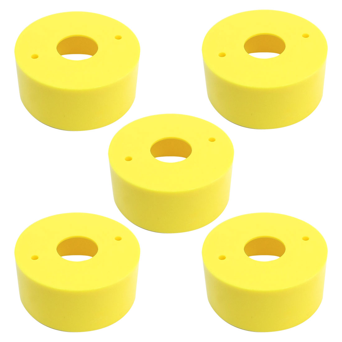 5 Pieces Round 22mm Cutout Push Button Switch Safeguard Cover 67x30mm