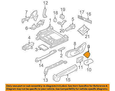 Jeep CHRYSLER OEM 06-10 Commander Seat Track-Shield Left 5KD27XDVAA
