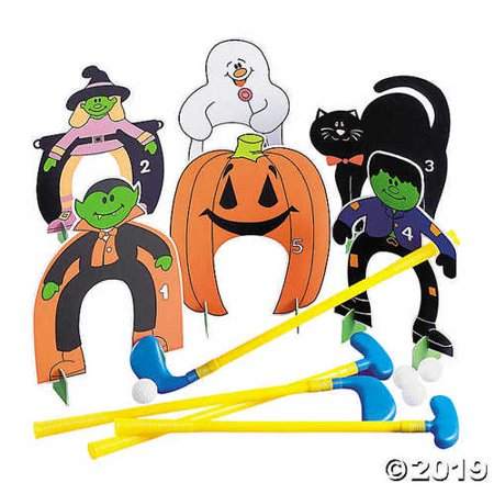 Halloween Golf Set - Golfing Costume