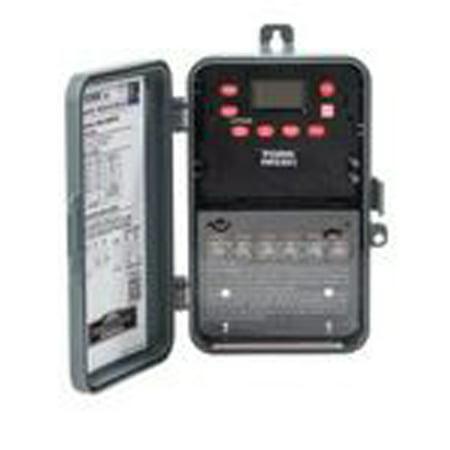NSI Tork EWZ201C Time Switch, 7 Day, Astronomic, NEMA 3R, 30 Amp, 120-277 VAC 7 Day Time Switch