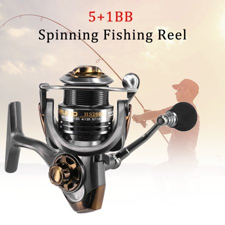 Spinning Fishing Reel 5+1 Ball Bearings Spinning Reels With Interchangeable Left/Right Hand - image 6 of 7