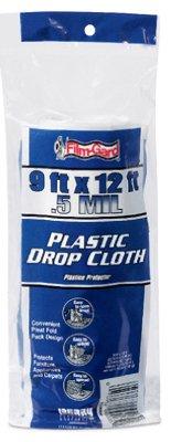 trimaco supertuff plastic and paper combination drop cloth walmartcom