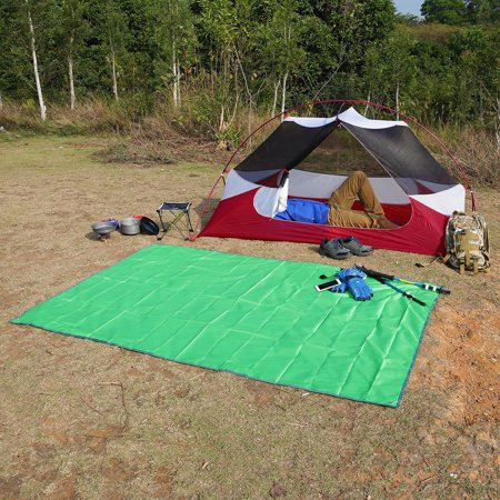 OUTAD Waterproof Camping Tarp For Picnics Tent Footprint And Sunshade for Outdoor Activities Picnics Camping Hiking Beach 240*220CM~~