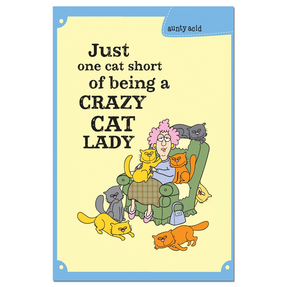 Tree-Free Greetings One Cat Short EcoNotes Boxed Blank Note Cards-FS66569