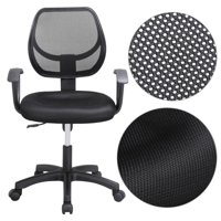 Product Image Yaheetech Adjule Swivel Computer Desk Chair Fabric Mesh Office With Arms Seating Back Rest