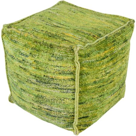 Marvelous 18 Lime Avocado Green And Gold Yellow Hand Woven Square Pouf Ottoman Forskolin Free Trial Chair Design Images Forskolin Free Trialorg