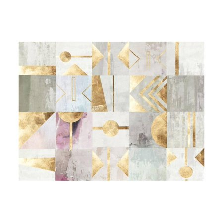 Gold Deco Print Wall Art By PI Studio - Art Deco Walls