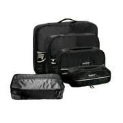 Baglane Packing Cubes - Travel Luggage & Shoe Bag 5pc Set (Pink)