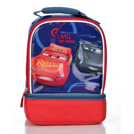 Thermos Dual Compartment Lunch Kit, Cars 3 (Halloween Inspired Lunch)