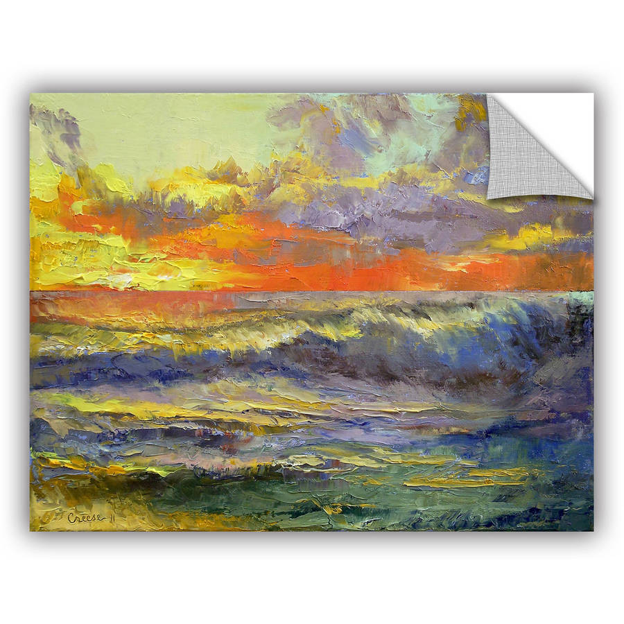 "ArtWall Michael Creese ""California Dreaming"" ArtAppealz Removable Wall Art"
