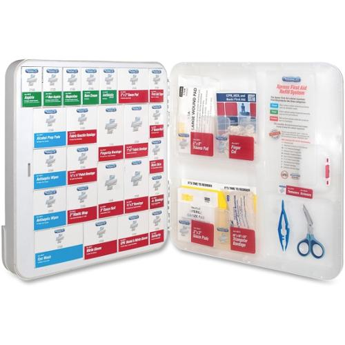 PhysiciansCare Xpress Refillable First Aid Kit - 370 x Piece(s) For 100 x Individual(s) Height - 1 Each