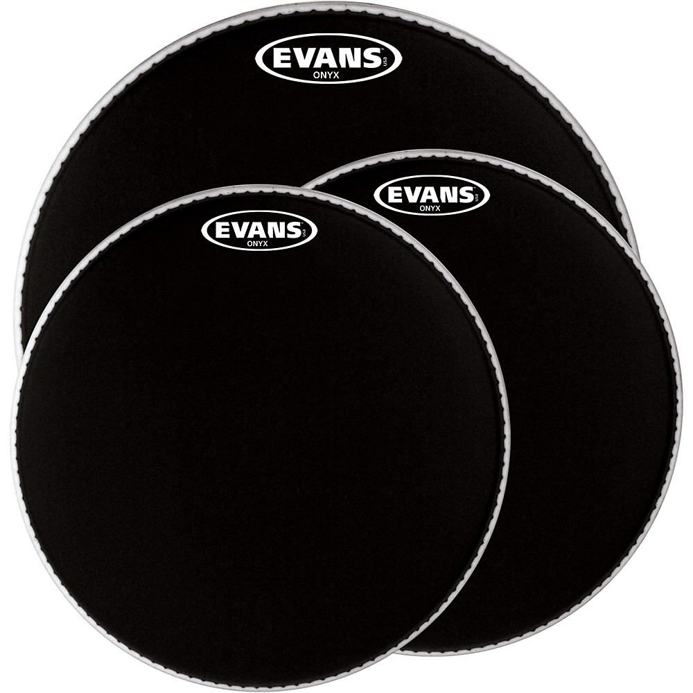 Evans Onyx 2-Ply Drum Head 12 in.