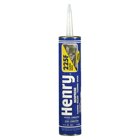 HENRY HE225F104 10.1 oz. Black Roofing Sealant ()