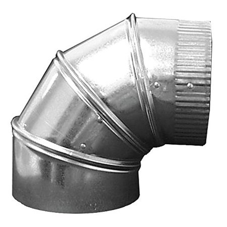 "10"" 90 Deg. Elbow Round Duct Fitting, 26 ga. By Ductmate Ship from US"