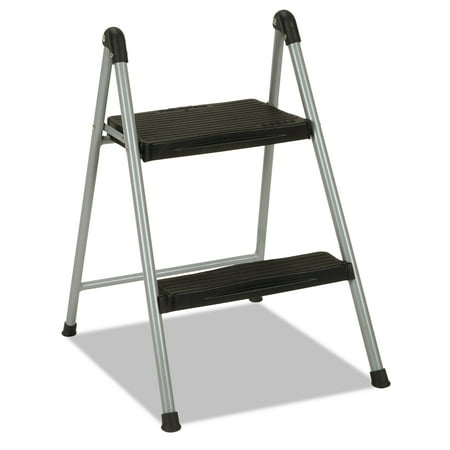 Cosco 2-Step Steel Folding Step Stool with Resin Steps, 200lb Capacity - Batman Step By Step