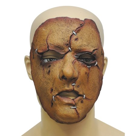 Serial Killer 27 Latex Face Adult Halloween Accessory](Ghoulish Halloween Faces)