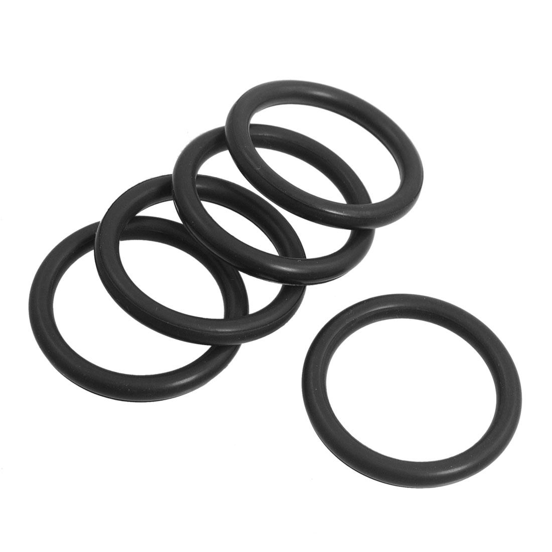 5 PCS d'étanchéité Rondelles filtre à huile O Rings 30 mm x 3.5 mm pour Makita HM0810 - image 1 de 1